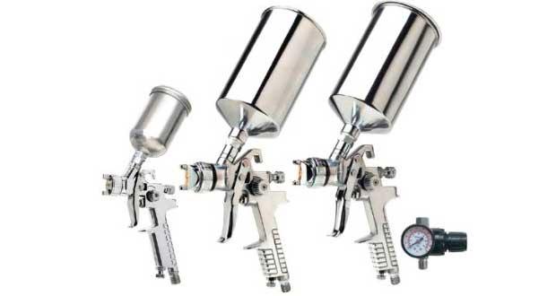 Vaper 19220 HVLP Triple Set-Up Spray Gun review